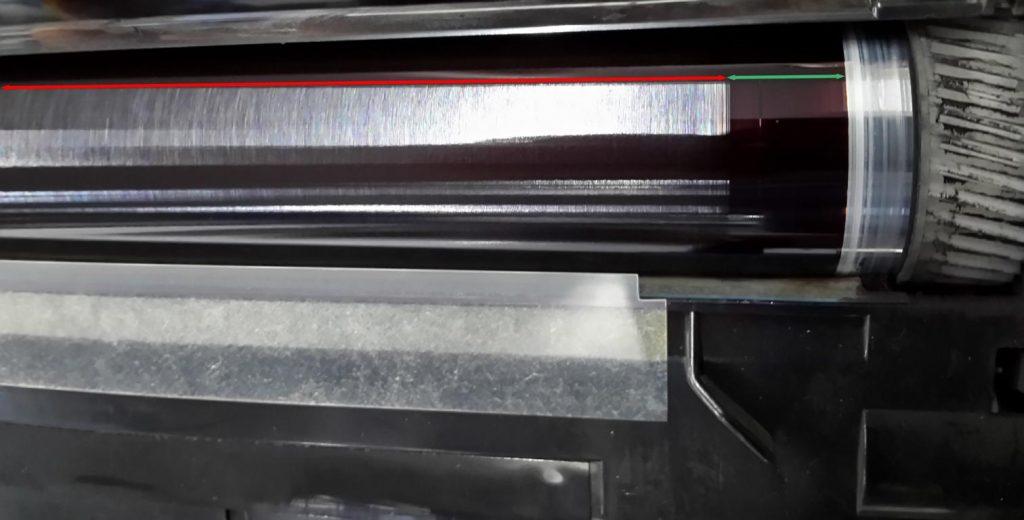 """Der Einsatz von Billigtonern verschmutzt Ihren Drucker und führt zu """"verschmierten Ausdrucken"""""""
