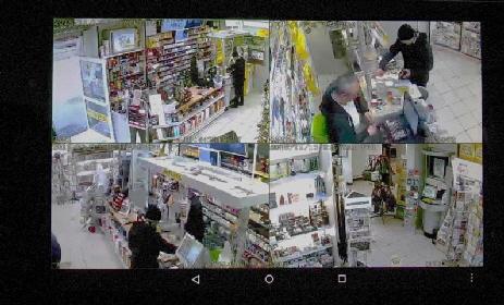 Videoüberwachung - 4 Kameras haben alles im Blick