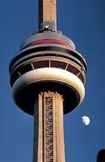 Stacotec Exklusiv Boltek Produkte auf Toronto CN Tower